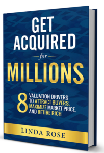 get acquired for millions linda rose book 3d cover