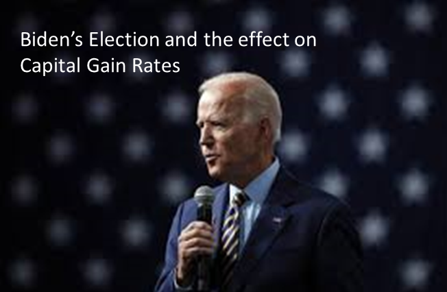 rosebiz capital gains taxes biden elections selling your business featured
